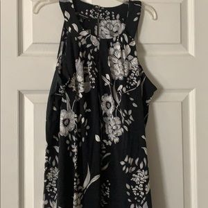 NWT Floral tank top